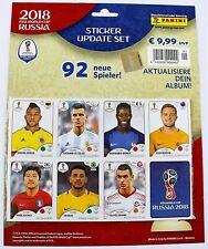 Panini WM 2018 Russland - Update Set mit 92 Stickern - NEU