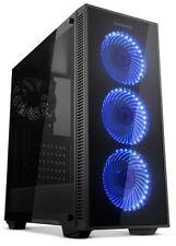 Caja PC Ordenador torre ATX NOX HUMMER TG RGB Gaming LED RGB Ventana lateral