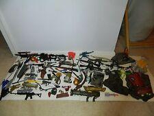 Huge Action Figure Accessories Lot GI JOE MARVEL DC SOLIDER GUNS SWORDS KNIVES