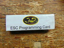 SCORPION ESC PROGRAMMING CARD