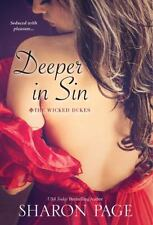 Deeper In Sin (the Wicked Dukes): By Sharon Page