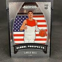 LaMelo Ball 2020 Panini Prizm Draft Picks Global Prospects RC Rookie Card #98