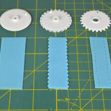 6X Fondant Strip Ribbon Cutter Set Cake Rolling Pin Embosser Decorating Tool A5C
