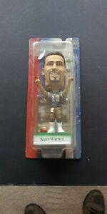 2002 NFL Play Makers Kurt Warner St. Louis Ram Bobble Head