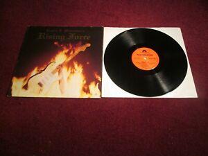 YNGWIE J MALMSTEENS RISING FORCE ORIGINAL 1ST PRESS 1984 NEAR MINT METAL AUDIO