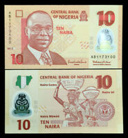 Nigeria 10 Naira Banknote World Paper Money UNC Currency Bill Note