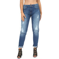 Women's Ex M&S Skinny Jeans Distressed Relaxed Skinny