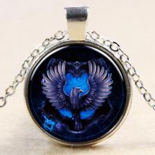 SONDERANGEBOT Harry Potter Ravenclaw vintage Anhänger Halskette Glas Cabochon