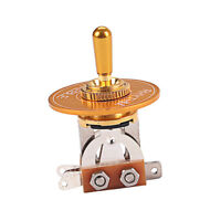 Golden Switch Pickup Selector + Rhythm Treble Ring for Electric Guitar Parts