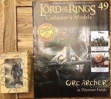 El Señor De Los Anillos Edición 49-Orco Arquero en los campos de Pelennor figura & Revista