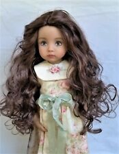 Monique GINGER Wig 7/8 for Little Darlings Kish BJD BJD Ellowyne Brown