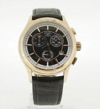 Leather Chronograph Rotary Les Originales 1985 with Date-Just