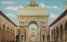 1915 Postcard - Arch of The Rising Sun - Pan Pacific Exposition San Francisco