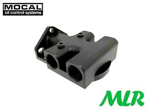 MOCAL OTRFH1R 3/4UNF UNIVERSAL THERMOSTATIC REMOTE OIL FILTER HEAD RIGHT TO LEFT