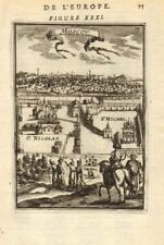 MOSCOW ??????. Cathedral of Archangel Michael ????????????? ?????. MALLET 1683