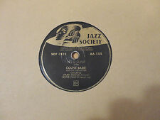 Disque 78 tours JAZZ SOCIETY  COUNT BASIE AA 555