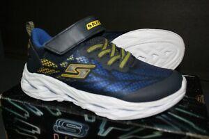 Skechers S-LIGHT VORTEX FLASH Sneaker Trainingsschuhe Kinder Turnschuhe Größe 35