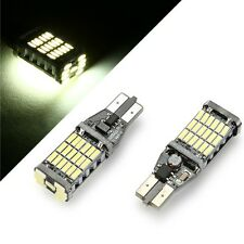 LAMPADA RETROMARCIA 45 LED T15 W16W CANBUS PER JEEP RENEGADE 6000K