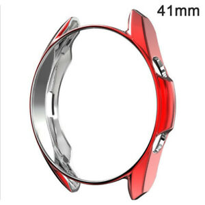 Protective Case for Samsung Galaxy Watch 3 45mm 41mm Watch3 Soft TPU Protect MM