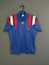 France Jersey 1992 1993 Home S Shirt Mens Maillot Football Soccer Adidas ig93