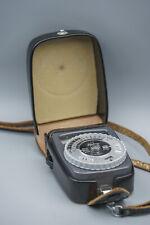 GOSSEN CdS SIXTAR exposure meter Belichtungsmesser, Light Meter + Original Case