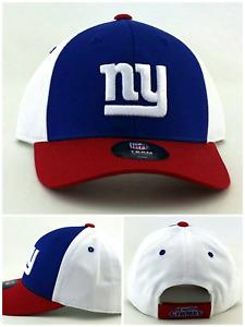 New York Giants NY New NFL Proline Youth Kids Blue Red White 4-7 Era Hat Cap
