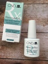 CND Rescue RXx 15 ml Keratin 100% Original  Made in USA Shellac Set Top
