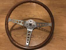 Cortina Mk1 Mk2 Lotus GT 1600e Wood Rim Steering Wheel