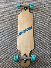Drop through longboard double kick freeride shark wheels x caliber RKP trucks