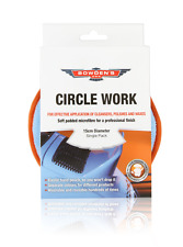 Bowden's Own Circle Work Orange Piping Mothers Meguiars Turtle Wax