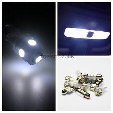 11 x White Led Car Light Bulbs Interior Package Kit For 2013-2014 Nissan Altima