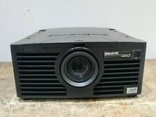 Christie DHD775-E Projector 350 Lamp Hours Used  6400 Lumens No Remote 384413