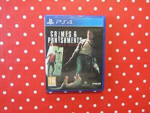 Sherlock Holmes Crimes & Punishments Playstation 4 PS4 in OVP mit Anleitung