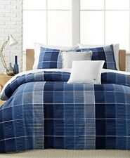 Lacoste Albe Navy Duvet Cover Sham Set Twin/XL