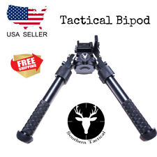 "Southern Tactical 6.5"" Tactical Hunting Picatinny Adjustable Rifle Swivel Bipod"