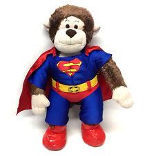 "BUILD A BEAR FACTORY DC Comics MONKEY Superman 15"" plush soft toy, Batman"