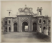 1860's PHOTO INDIA BOURNE AND SHEPHERD - LUCKNOW EAST GATE OF THE KAISER BAGH