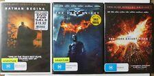 The Dark Knight Trilogy [M] (5 DVD, 2005/2008/2012, R4)