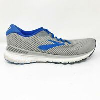 Brooks Mens Adrenaline GTS 20 1103071D051 Gray Blue Running Shoes Size 7.5 D