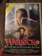 WARLOCK VHS Video - Big Box - Thriller Vhs Rated15