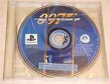 007 The World is not Enough Sony PlayStation 1 PS1 psx original game disc only