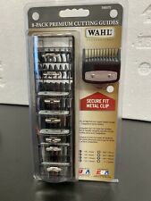 Wahl Professional Premium Guards #1-8 with Organizer Case