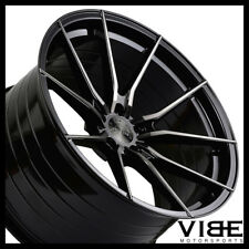 """20"""" VERTINI RF1.2 FORGED BLACK CONCAVE WHEELS RIMS FITS FORD MUSTANG GT"""