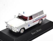 SIMCA MARLY BREAK STATION WAGON AMBULANCE 19597495010 Atlas 1:43 New in a box!