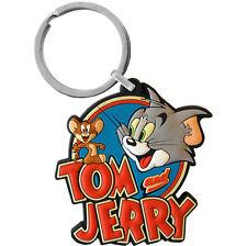 Tom and Jerry PVC Keyring. Cool Cartoon Retro Novelty Nostalgic Gift