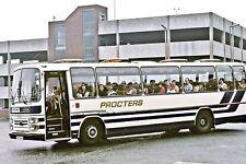 Procter, Fenton HRE128V Leyland Leopard Bus Photo Ref P607