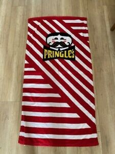 Pringles Chips Beach Towel Promotional Advertising Rare