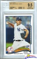 2014 Topps #661 Masahiro Tanaka ROOKIE BGS 9.5 GEM MINT Yankees 175 Million!