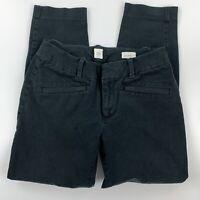 Gap Brand Womens Black Signature Curvy Skinny Ankle Stretch Pants Size 2