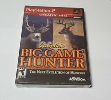 Cabela's Big Game Hunter The Next Evolution of Hunting PlayStation 2 ps2